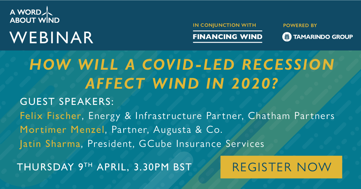 Register for A Word About Wind's Webinar Now